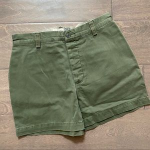 GAP Womens Relaxed Fit Shorts Size 8 Green